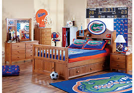 Kids Rooms To Go by Shop For A Ncaa Creekside 5 Pc Full Bookcase Bedroom At Rooms To