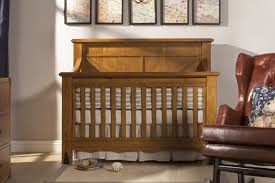 oak convertible crib u0026 ben providence 4 in 1 convertible crib with toddler rail in aged