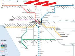 Boston Red Line Map by Metro Considering Rail Link From Valley To Bob Hope To Pas Curbed La
