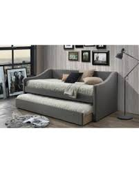 new savings on baxton studio barnstorm upholstered daybed with