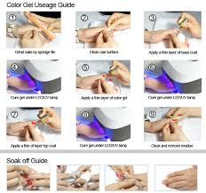 how to cure gel nails without a uv light gel nail dryer uv l 36 watt greenstyle soak off gel polish view
