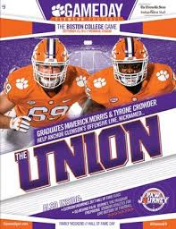 home depot black friday ad 2016 29678 clemson football 2016 louisville gameday program by clemson