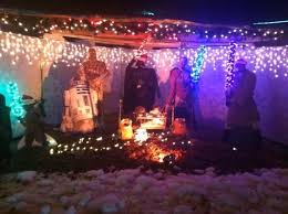 Christmas Outdoor Decorations Nativity Scene by Star Wars Nativity Scene Walyou