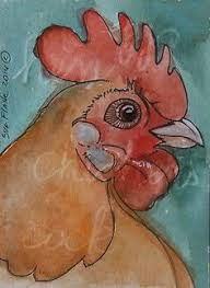 aceo cards for sale aceo original pen promarkers gouache painting bird the