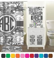 Camouflage Bathroom Camo Shower Curtain Personalized Potty Training Concepts