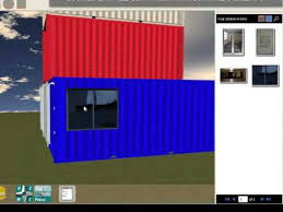 3d Home Design Software Youtube Shipping Container Home Design Software