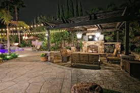 custom outdoor fire places gallery western outdoor design and
