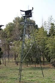 tripod tree stand treestand shooting ladder tree
