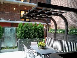 chicago roof deck urban garden landscape design pergola