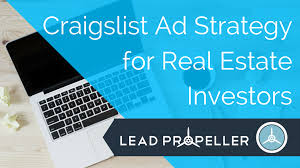 Why Am I Getting Flagged On Craigslist Craigslist Ad Strategy For Real Estate Investors Leadpropeller Blog