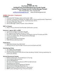 sample physical therapist assistant resume samples respiratory