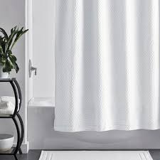 White Shower Curtain Shower Curtains The Company Store