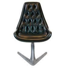 chromcraft sculpta u0027star trek u0027 unicorn swivel chair at 1stdibs