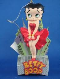 betty boop ornament and shoe ornaments