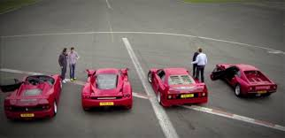 f50 top gear top gear gathers 288 gto f40 f50 and enzo gtspirit