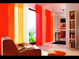 Orange Panel Curtains Curtains For Every Room Interior Design Paradise