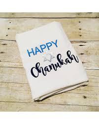 hanukkah decorations sale winter shopping sales on happy chanukah flour sack towel chanukah