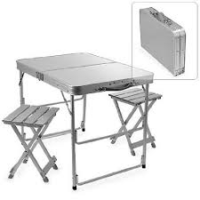 portable folding picnic table 1382206aluminiumpicnictable213588654061384066061 portable folding