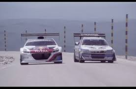 video peugeot 208 t16 final test on tour de france route