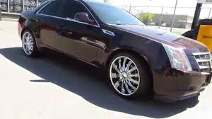 cadillac cts rims for sale hillyard lions 2010 cadillac cts with 20 inch chrome spoke