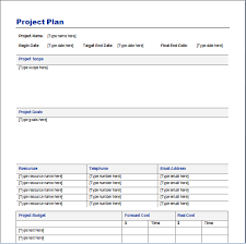 free project schedule template word schedule template free