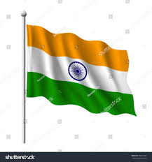 Flag If India Flag India Vector Illustration Stock Vector 106213985 Shutterstock