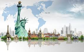 New York travels images New york travel free ppt backgrounds for your powerpoint templates jpg