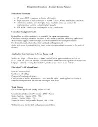Resume Samples General Contractor by Independent Consultant Contract Template Virtren Com