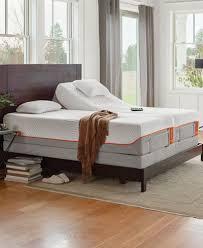 tempur pedic ergo premier gray adjustable beds mattresses macy u0027s