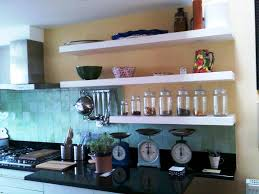 wall shelf ideas for kitchen