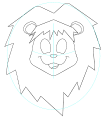 tut draw cute lion sharpen drawing techniques