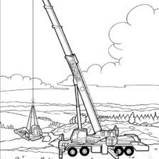 truck coloring crane truck 3 coloring pages crane truck