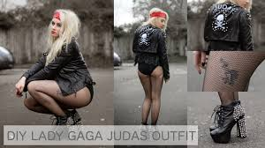 diy diy lady gaga judas fancy dress halloween costume