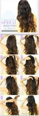 13 half up half down hair tutorials
