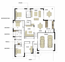 4 bedroom floor plans ranch enchanting 4 bedroom split level floor plans including plan ga