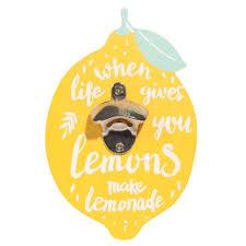 Maisons Du Monde Ouvre Un Décapsuleur Jaune Imprimé Citron Decor Maisonsdumonde