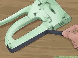 Staple Gun Upholstery 3 Ways To Load A Staple Gun Wikihow