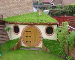 Backyard Little House Hobbit Houses 15 Grassy Hill Shaped Dwellings Webecoist
