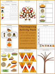 activity pack with crafts and printables