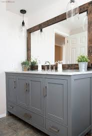 Best 25 Gray Bathroom Vanities by Bathroom Vanity Mirrors Realie Org