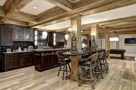 basement kitchens ideas rustic finished basement ideas amazing rustic finished basement