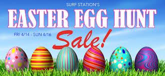 easter egg sale 2017 easter egg hunt sale surf station surf report