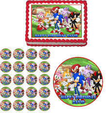 sonic the hedgehog cake topper sonic the hedgehog birthday cake toppers birthday cake ideas