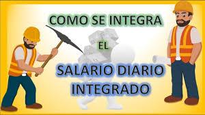 cmo calcular el salario diario integrado con sueldo como calcular salario diario integrado youtube