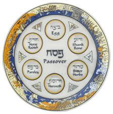 buy seder plate buy passover story glass seder plate with desert and sea