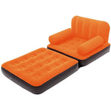 Air Sofa 5 In 1 Bed 5 In 1 Air Sofa Bed Single Super Soft Comfortable Neon Blue