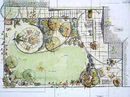 Garden Layout Exles Of Inspiring Garden Pleasing Garden Layout Home Design