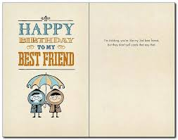 birthday card for best friends new bald card best friend birthday card