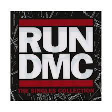 run d m c the singles collection vinyl single cover art