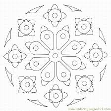 127 mandalas images coloring drawings